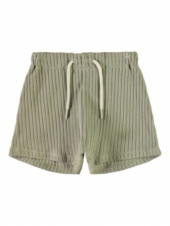 Sixten loose shorts, silver sage, Lil´ Atelier